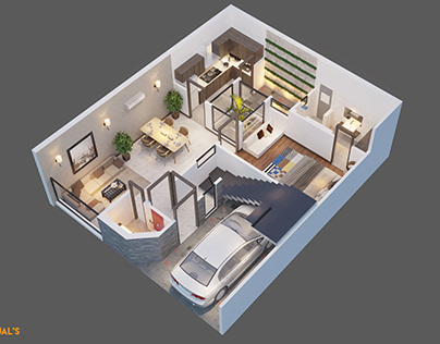Visualization : isometric view
