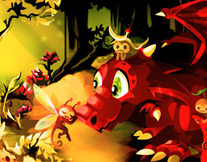Dragons and fairy monkeys