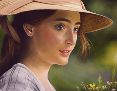 Morwenna - Digital Illustration