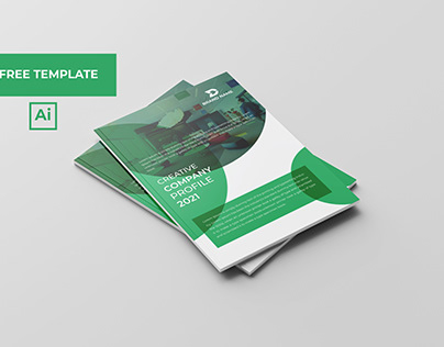 Company Profile Brochure Template Free Download