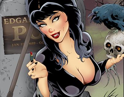 Elvira — Mistress of the Dark Pinup Art