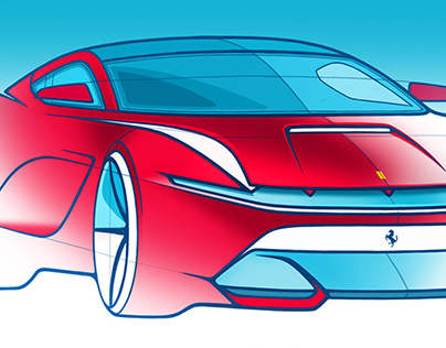 Automotive sketches - 1/2017