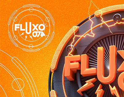 FLUXO 074 - LOGO 3D
