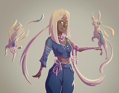 Character Design - Koani