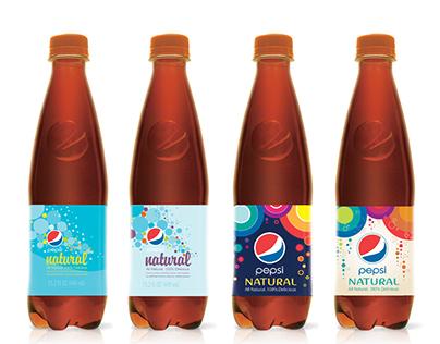 Pepsi Natural Packaging