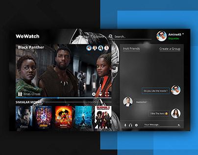 WeWatch - Web Site