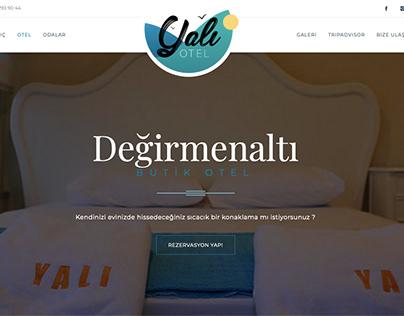 Yalı Otel Web Desing