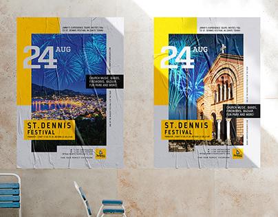 Poster design / Jimmy's experience tours Zakynthos