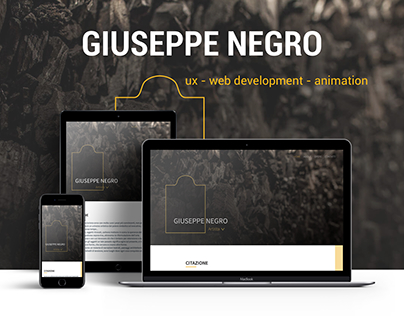 Giuseppe Negro − Portfolio Artist