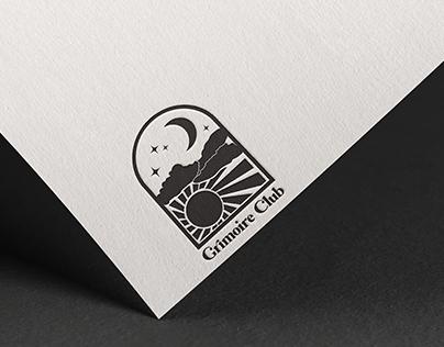 Grimoire Club Logo Design