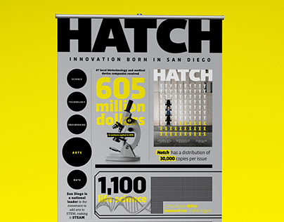Hatch Pop Up Banner Design