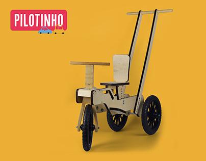 Pilotinho - Miniveículo infantil