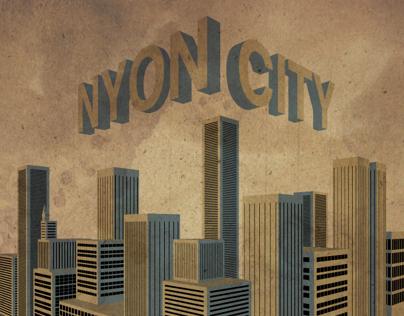 NYon City Illustration