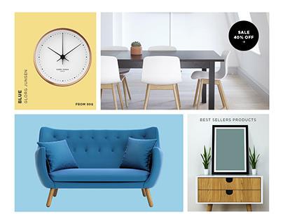 E commerce website design for Maker
