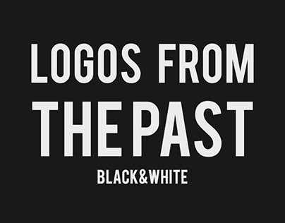 Logos from the past --Black&White