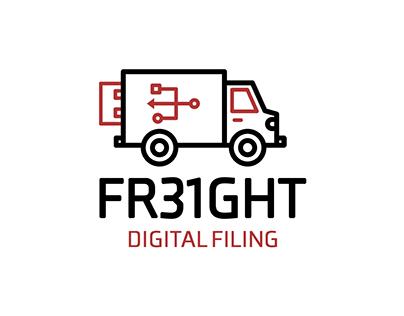 FR31GHT Digital Filing - Logo Design