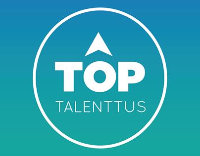 Logotipo e fanpage TOP Empregos