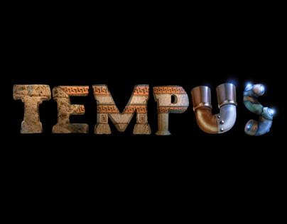 """""""Tempus"""" short film logo illustration"""