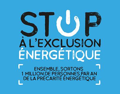 STOP À L'EXCLUSION ÉNERGÉTIQUE