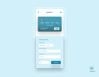 Daily UI 02 - Checkout page