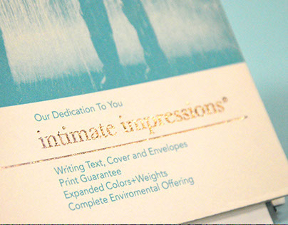 Intimate Impressions Paper Swatch book