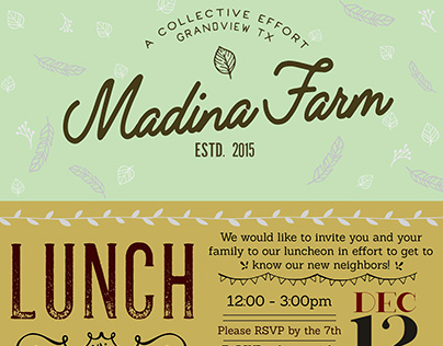 Madina Farm Luncheon