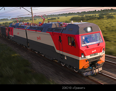 Russian electric locomotive 2ES10 «Granite»