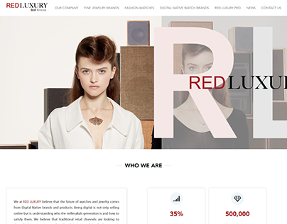 Redluxury website