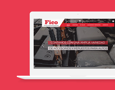Fico - Web Design