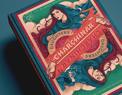 Daughters of Char Chinar - Book Cover Design