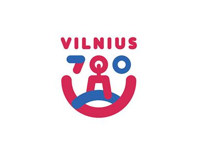 "Logo proposal in ""Vilnius 700"" competition"
