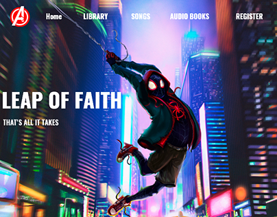 Leap of Faith - that's all it takes