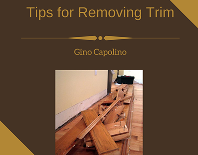 Tips for Removing Trim
