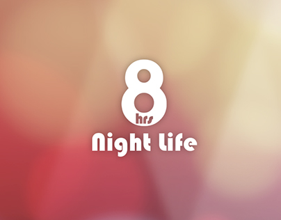 8hrs Night life App Design