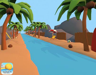 Sand Roller 3D - Beach Environment