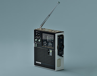 ▼▲ Once In A While Renders № 35 Sony ICF-5500