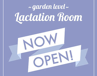 Lactation Room opening