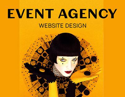Event Agency / Website design