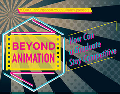 Promotional Poster Design for Animation Talk Event