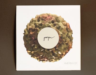 Parque – Amerika EP branding and cover artwork