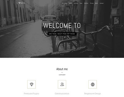 Layout WP - Layout for Wordpress One Page Theme