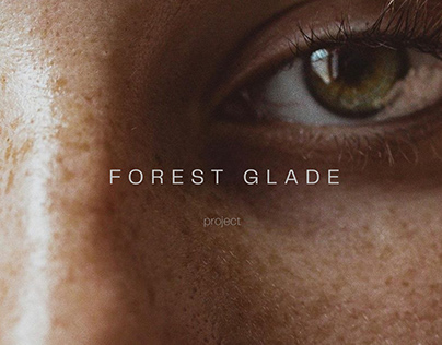Forest glade — online-store redesign