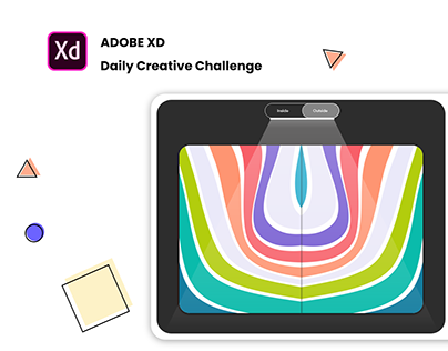 Adobe XD Daily Creative Challenge Day 3