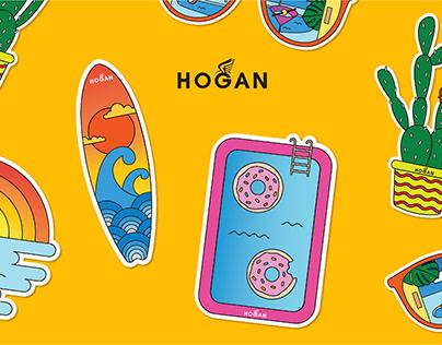 Hogan sticker pack