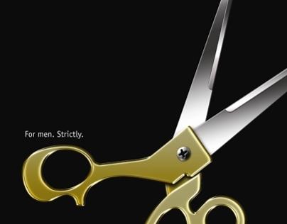 Print Ad for Hairdressing Salon Nikos.