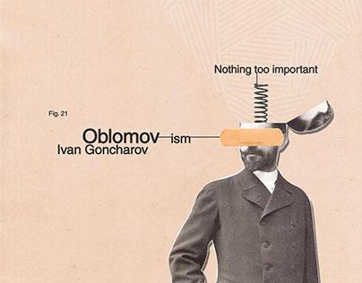 Oblomov [Book cover]