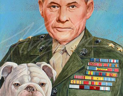 "Portrait of Lt. Gen. Lewis B. ""Chesty"" Puller"