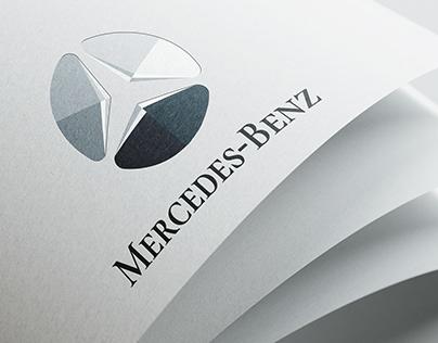 Mercedes Logo redesign concept