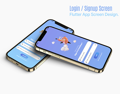 Animated Login and Register UX/UI