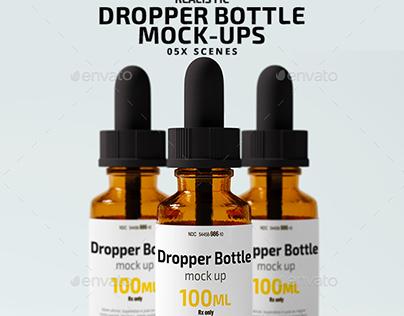 Dropper Bottle Mock Ups